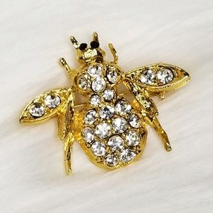 Blingy Bee Brooch